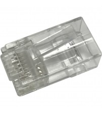 Excel Fast RJ45 Plug (suitable for UUTP Category 5E and 6) - 100-pack