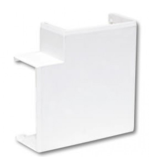 Cabledec Plus - Maxi Trunking Clip on Flat Bend - 75 x 75