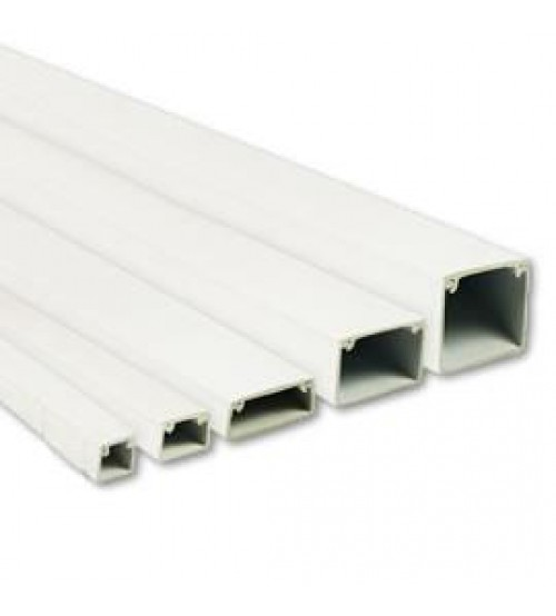 Marshall Tufflex - Mini Trunking Self Adhesive - 38 x 25 - MT4 - 3 Metres