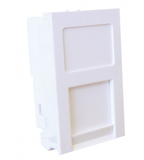 Excel Euromod 25mm x 50mm Flat Keystone Shutter - White