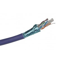 Excel CAT6 F/UTP Cable LSOH - Violet - Cut to measure