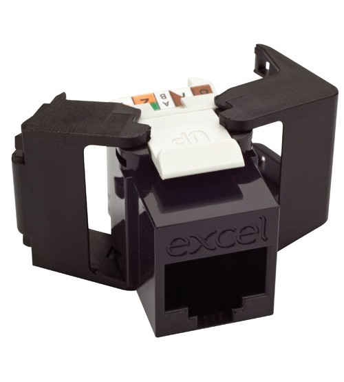 Excel CAT6 Low profile UTP Toolless Keystone Jack