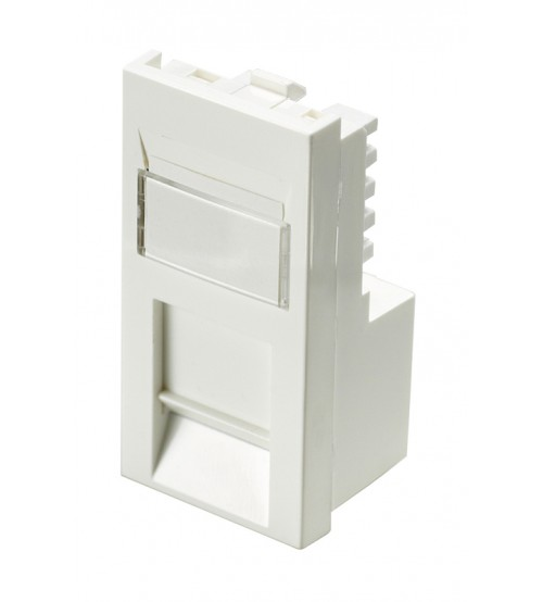 Excel Cat 5e Unscreened RJ45 Module - Low Profile