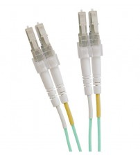 Excel LC-LC OM3 Multimode 50/125 Duplex Leads 2.8mm - 1m
