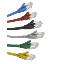 Excel Cat5e U/UTP Blade Patch Lead LSOH - 0.2m to 30m