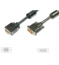 DVI Male to SVGA 15 PIN HDD Male Cable - 2m