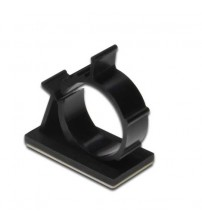 Self Adhesive Round Cable Holder / Clamp - 100 Peices