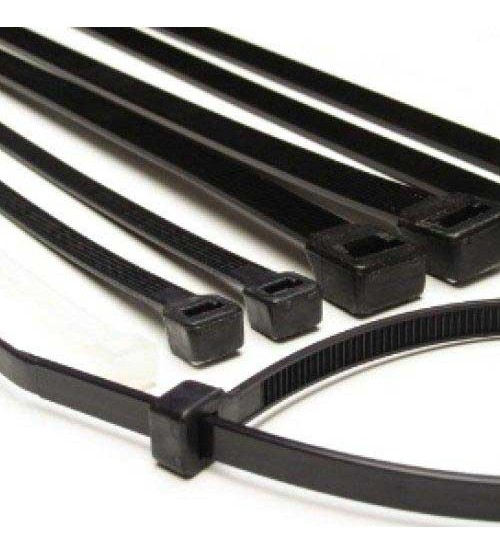 "290mm (12"") Cable Ties - Black"