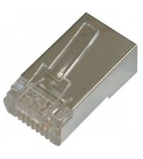 Sheilded Cat5e 8P8C Connector For STP Cable