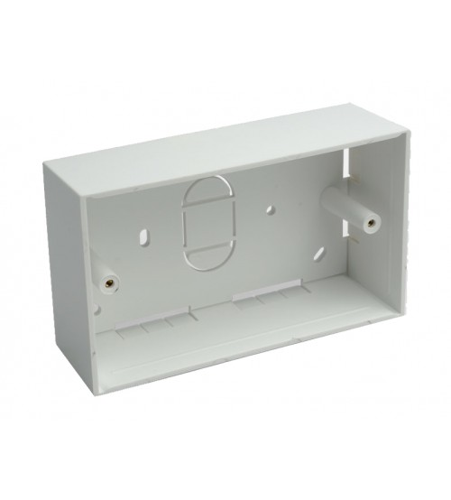 45mm Double Gang PVC Back Box