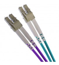 LC-LC OM3 Multimode 50/125 Duplex Leads 2.8mm - 0.5m to 25m
