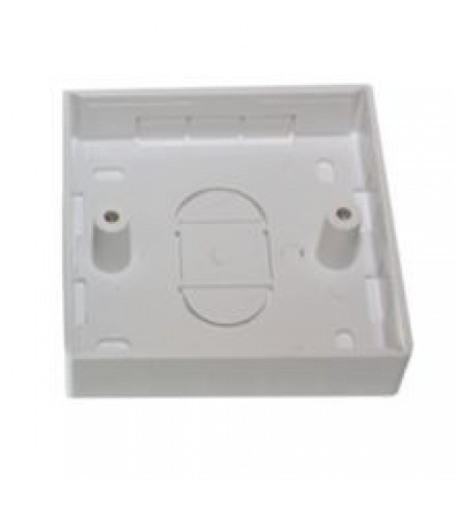 32mm Single Gang PVC Back Box - Excel