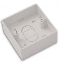 45mm Single Gang PVC Back Box