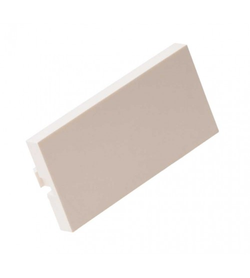 Nenco Half Blank 25X50mm White