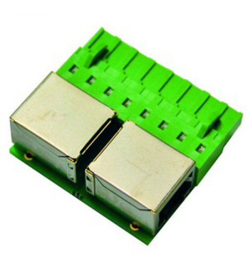 PAXTON RJ45 READER PORT CONNECTOR-PACK OF 5