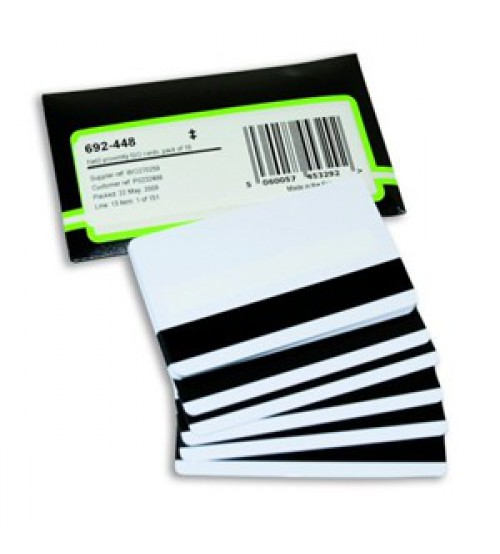 NET2 PROXIMITY ISO CARDS WITH MAGSTRIPE-PACK OF 10