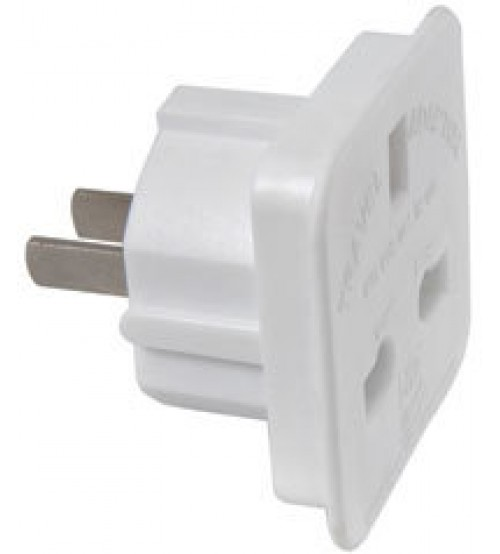 Red Grey - US Style Mains Travel Adaptor