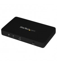StarTech 4K HDMI 2-Port Video Splitter 1x2 HDMI Splitter with Aluminum Housing