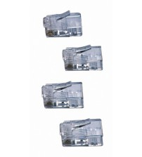 AMP Cat5e RJ45 Connectors for use with solid cable