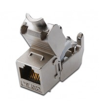 CAT6a Shielded Toolless Keystone Jack