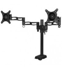 Arctic Desk Mount Dual Monitor Arm (Black)