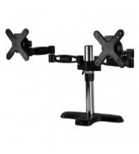Arctic Cooling Z2 Pro Desk Mount Dual Monitor Arm with 4-Ports USB 3.0 Hub