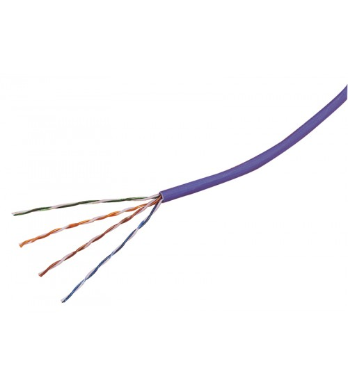 Cat 5e unscreened uutp solid cable lsoh 305m violet excel cat 5e unscreened uutp solid cable lsoh 305m violet sciox Choice Image