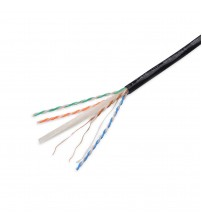 Excel External CAT6 U/UTP Copper Cable - Black - 305m Box
