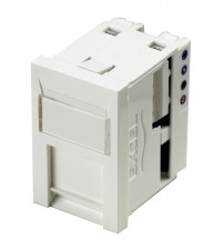 Excel Cat 6 Unscreened RJ45 Module - 6c