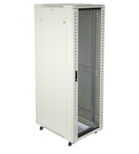 Network Rack 600W - 600D - 12U - Glass Front and Steel Rear door