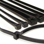 140mm Cable Ties - Black