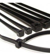 200mm Cable Ties - Black
