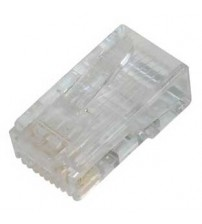 CAT6 RJ45 (8P8C) Connector For UTP Cable