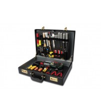 Complete engineers service kit in case