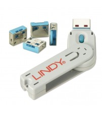 Lindy USB Port Blocker 4 Locks 1 Key