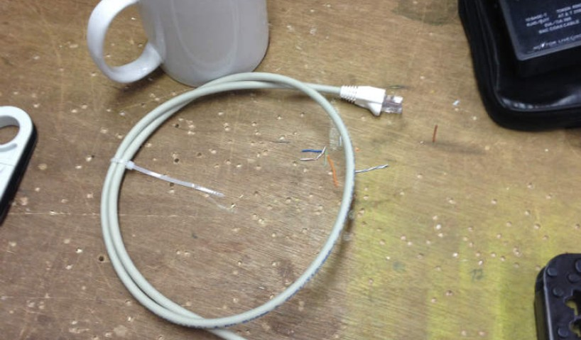 Creating your own Length Cat5e or Cat6 Patch Leads