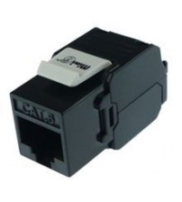 Mini6 CAT6 UTP Tool-Less Keystone Jack for Modular panels & wallplates