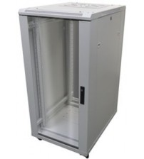 Mini5 600 x 600 Floor Standing Network Enclosure With Glass Front Door