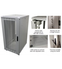 Mini5 600 x 1000 Floor Standing Server Enclosure