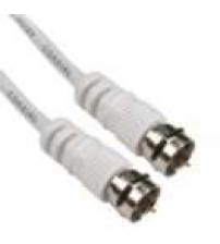 MiniLink 75ohm Co-Axial F Series White Cable