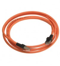Nexans Essential CAT6 UTP LSOH Orange Patch Lead - 1m to 5m