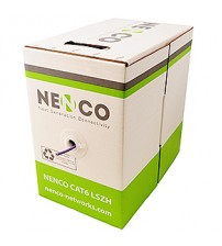 Nenco Cat6 UTP Copper Cable 23 Awg LSZH