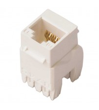 Nenco Cat5E UTP Jack With IDC Cap White