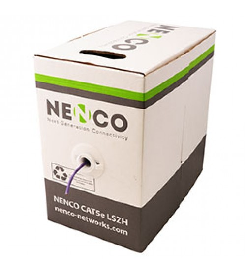 Nenco Cat 5e UTP Copper Cable LSZH - 305m