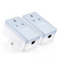 TP-LINK AV500 TL-PA451 500Mbps Powerline Adaptor with AC Pass Through Starter Kit (Twin Pack)